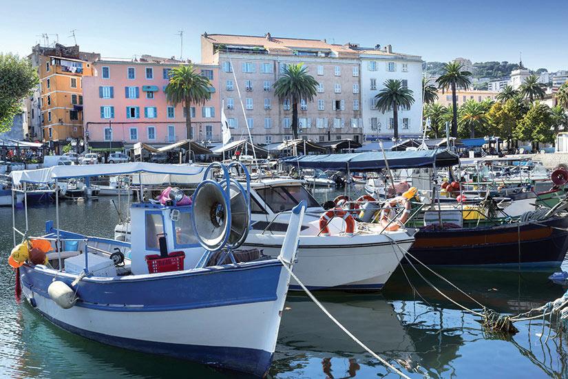 image Corse port Ajaccio Tino Rossi  fo