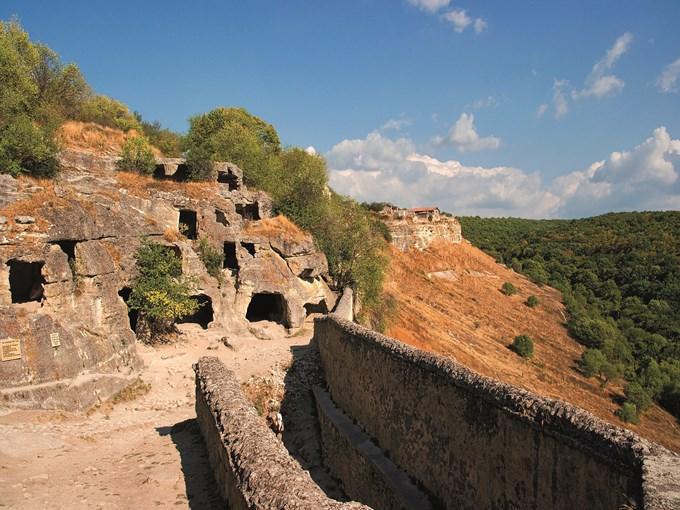 image Crimee cite medievale de chufut kale