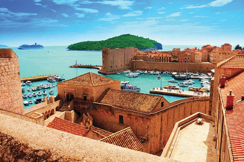 image Croatie Dubrovnik Port  fo