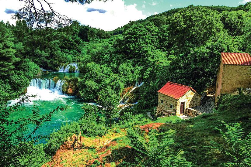 image Croatie Krka Panorama  fo