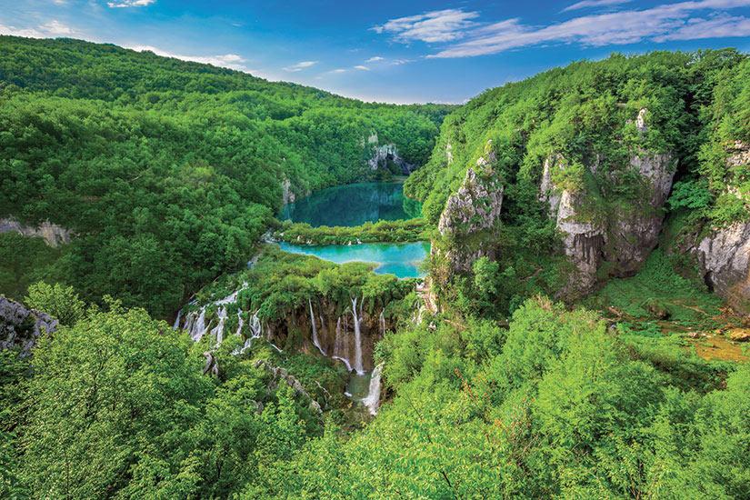 image Croatie Plitvice Panorama  fo