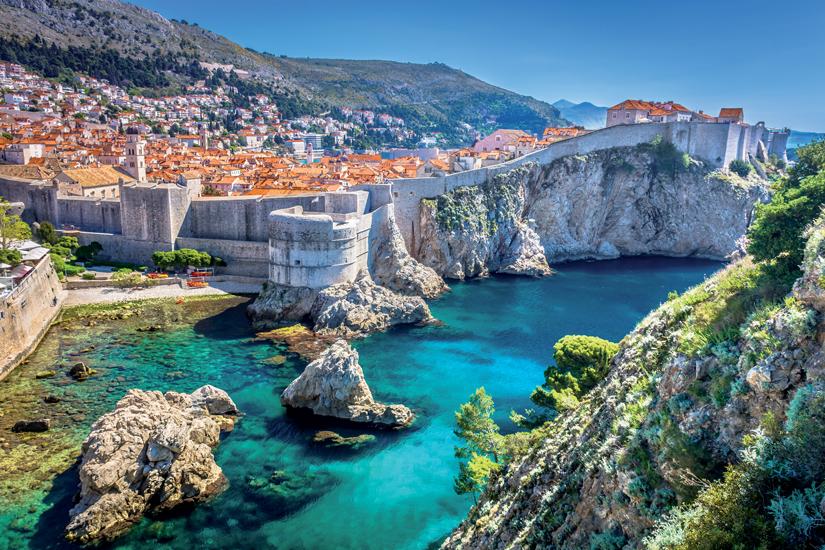 image Croatie dubrovnik paysage vue aeerienne 19 fo_160588424