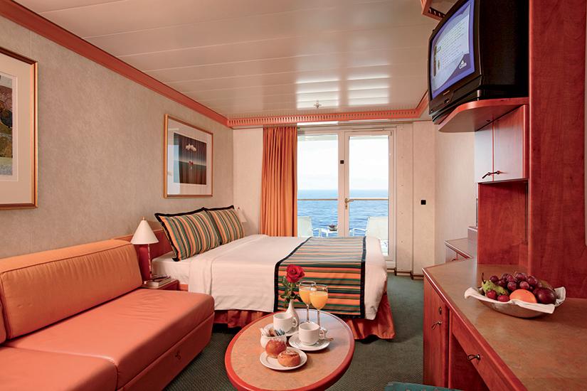 image Croisiere Costa Mediterranea Cabine vue mer avec balcon