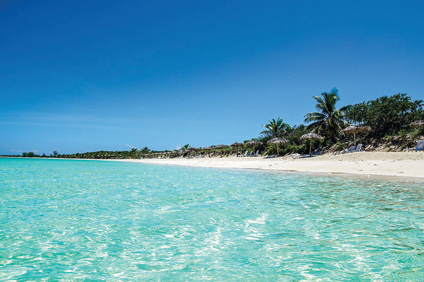 image Cuba Cayo Santa Maria Cayo Las Brujas plage  fo