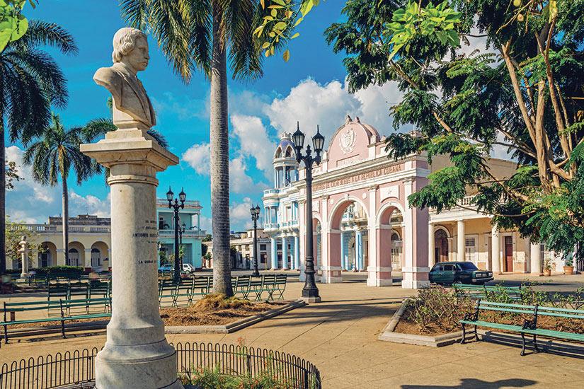 image Cuba Cienfuegos Parque Marti  it