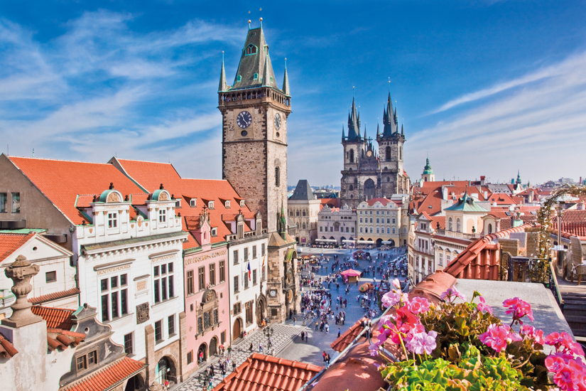 image Czech prague cathedrale tour horloge 68 fo_45666044
