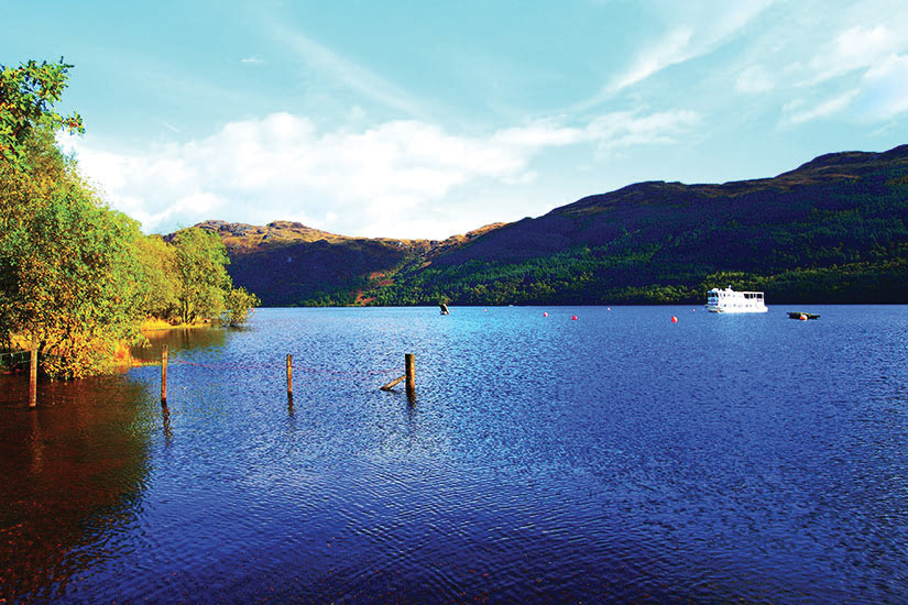 image Ecosse Loch Lomond Panorama  fo
