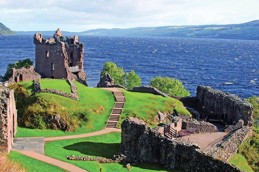 image Ecosse Loch Ness Chateau Urquhart  it