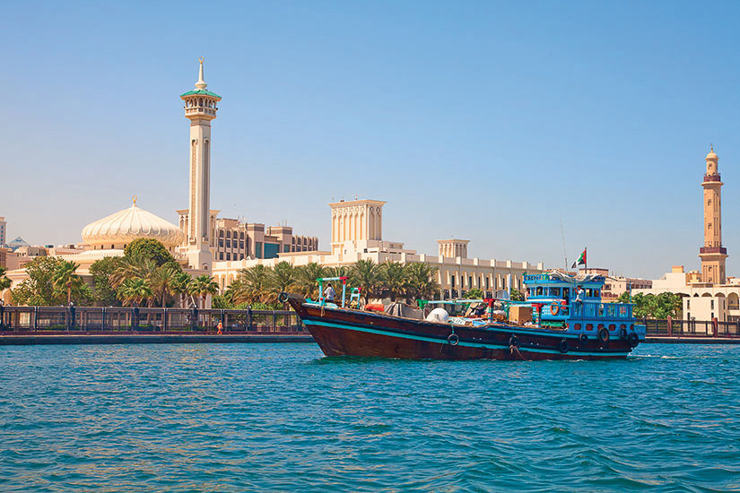 image Emirat Arabes Unis Dubai Panorama  fo