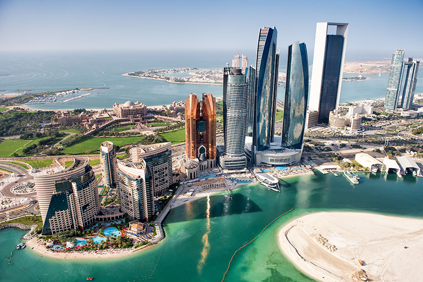 image Emirats Arabes Unis Abou Dhabi panorama  it