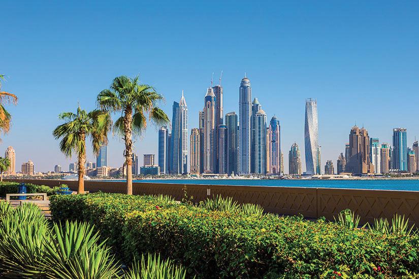 image Emirats Arabes Unis Dubai Marina  fo