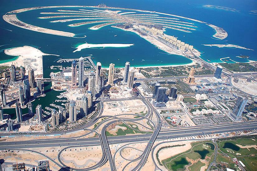 image Emirats Arabes Unis Dubai Palm Jumeirah  it