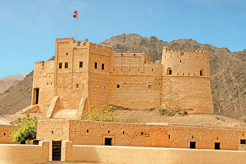 image Emirats Arabes Unis Fort de Fujairah  it