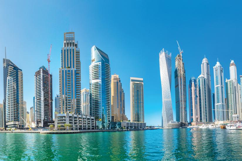 image Emirats arabes unis dubai marina panorama 11 as_106408400