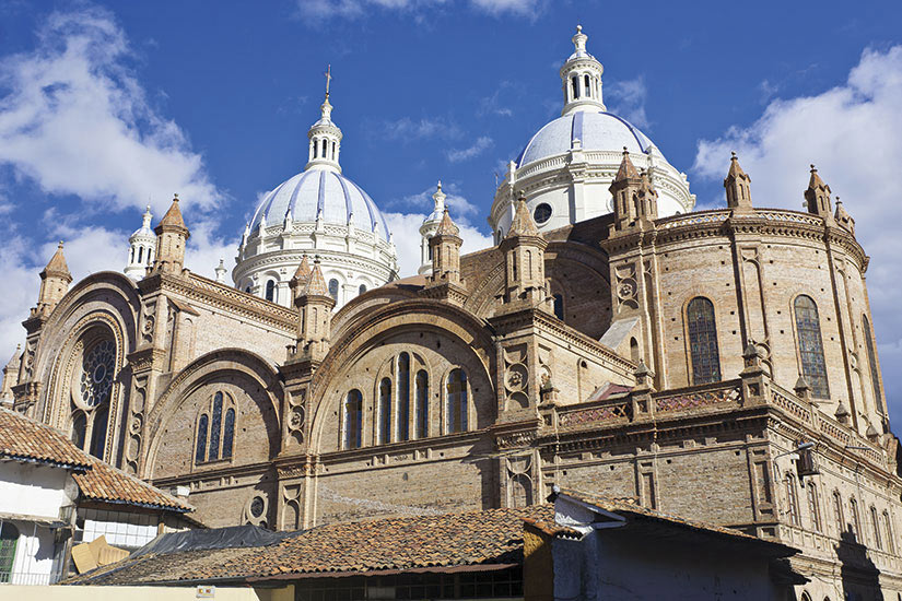 image Equateur Cuenca Cathedrale de Iimmaculee Conception  it