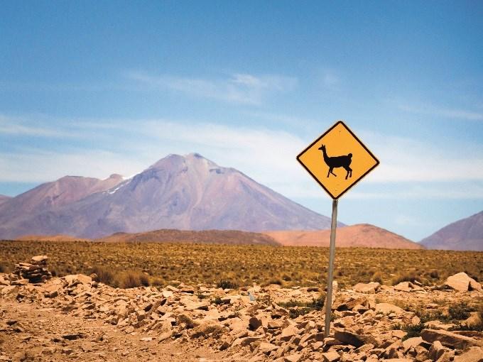 image Equateur chimborazo panneau