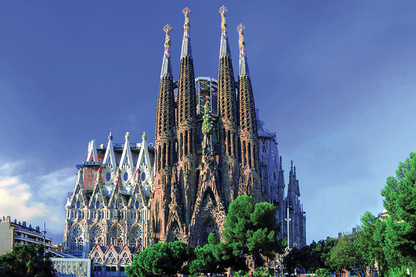 image Esapgne Barcelone Sagrada Familia  it