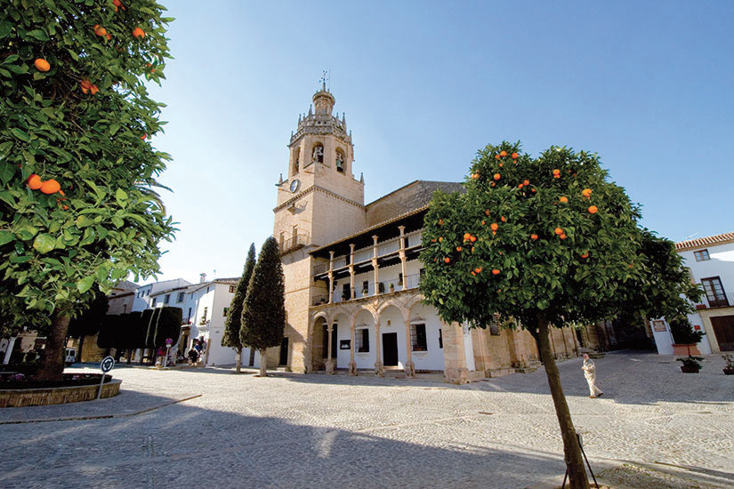 image Espagne Andalousie Ronda Santa Maria la Mayor  fo