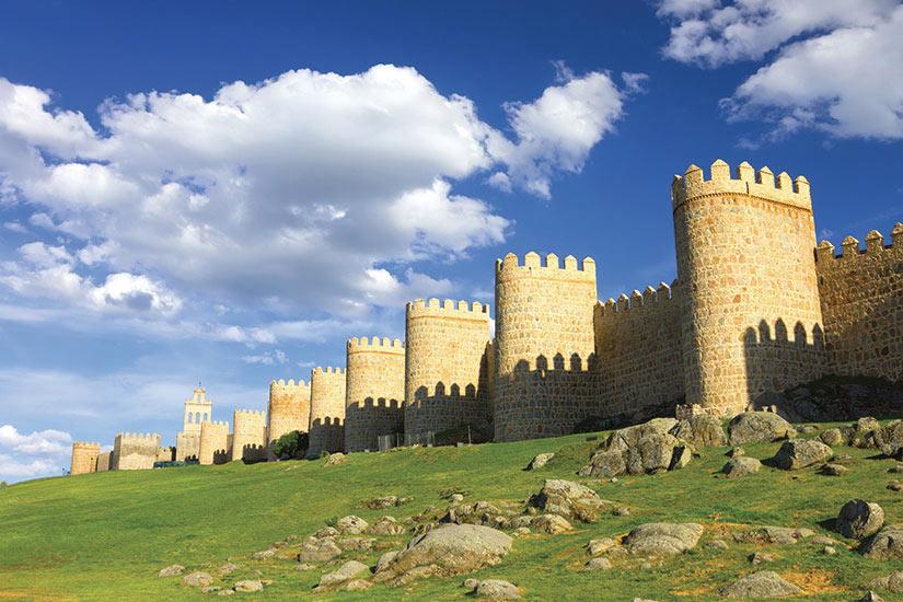 image Espagne Avila Mur medievale  fo