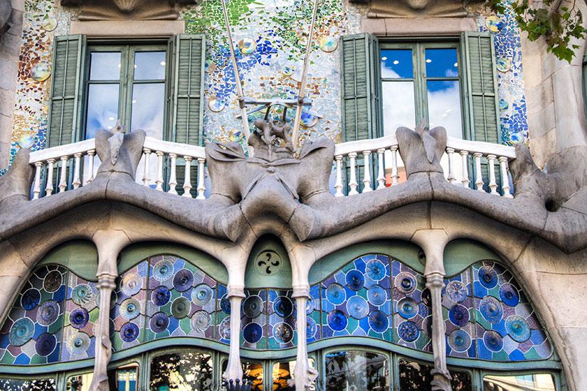 image Espagne Barcelone Casa Batllo  fo