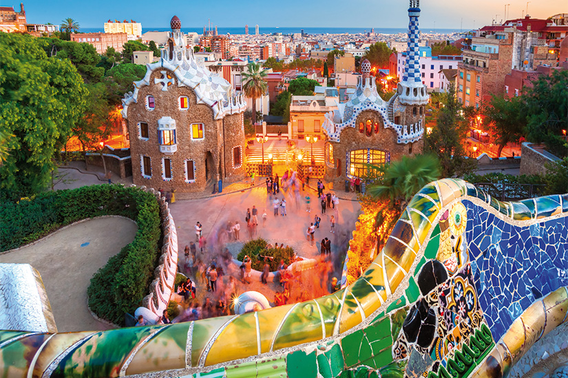 image Espagne Barcelone Parc Guell 23 as_58604823