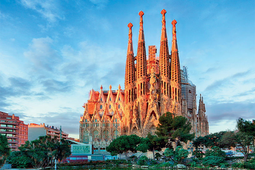 image Espagne Barcelone Sagrada Familia 01 as _102733741