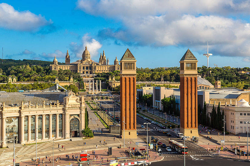 image Espagne Barcelone centre ville  fo