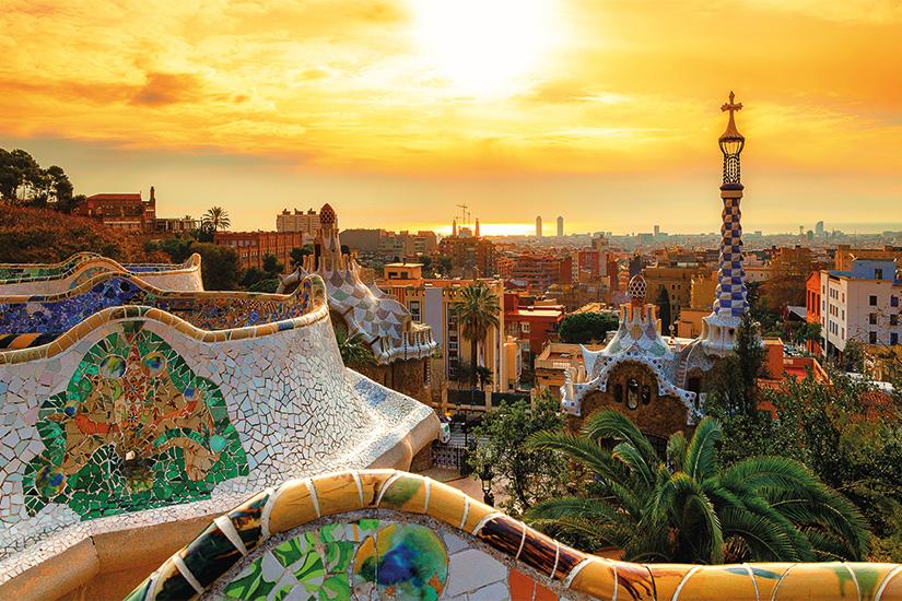 image Espagne Barcelone vue depuis le Parc Guell 10 as_208662824