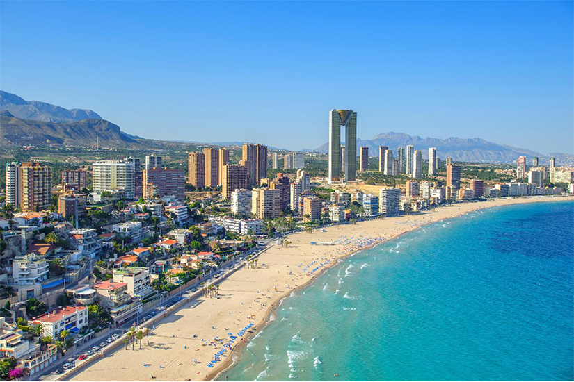 image Espagne Benidorm plage