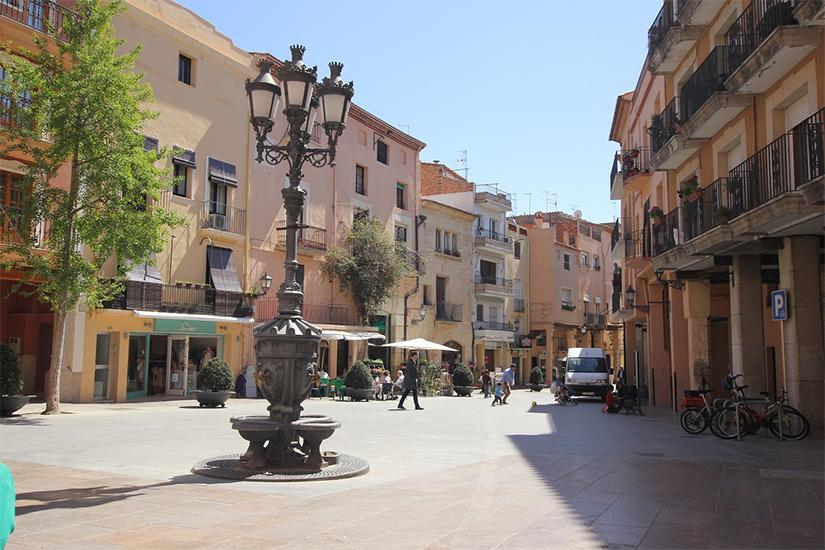image Espagne Cambrils centre  .JPG