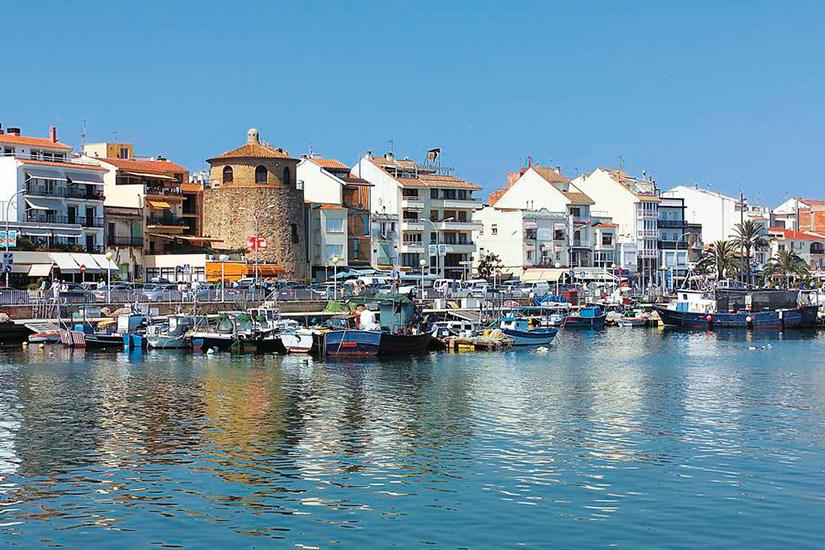 image Espagne Cambrils port