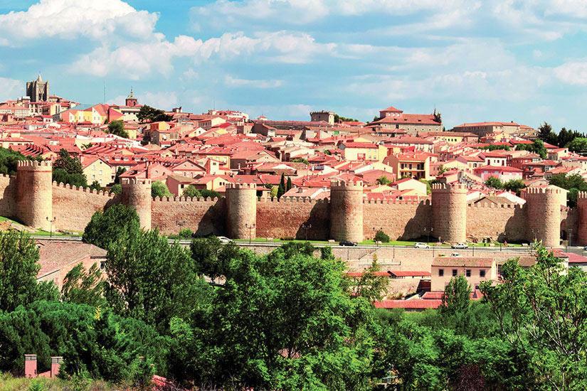 image Espagne Castilla y Leon Avila Panorama  fo