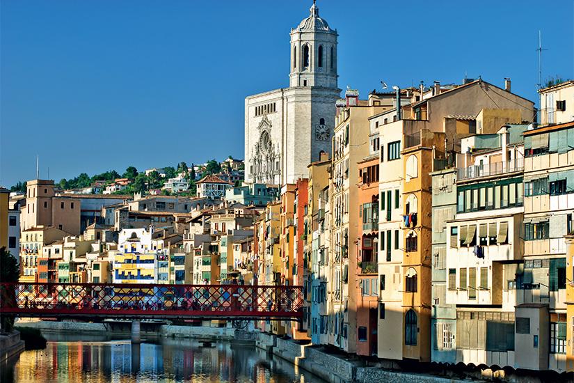 image Espagne Gerone vue sur la riviere 03 as_32211435