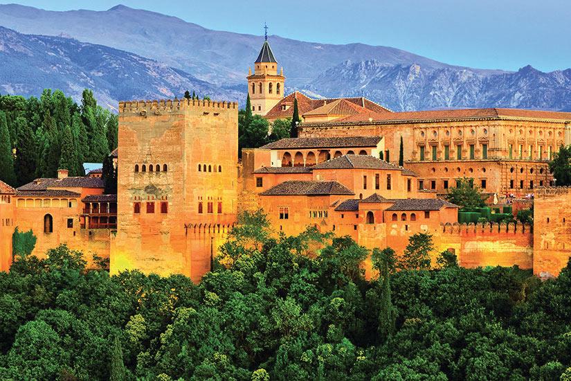 image Espagne Grenade Alhambra palais  fo