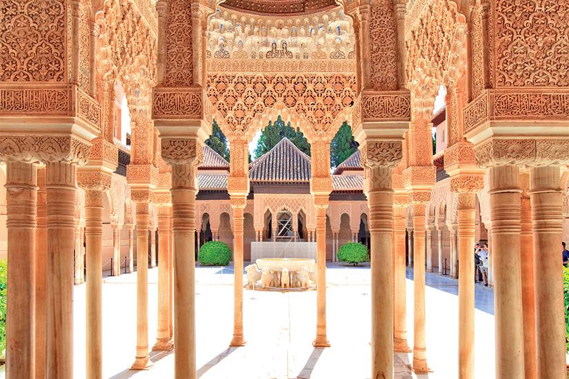 image Espagne Grenade Alhambra palais des lions 47 as_159419924