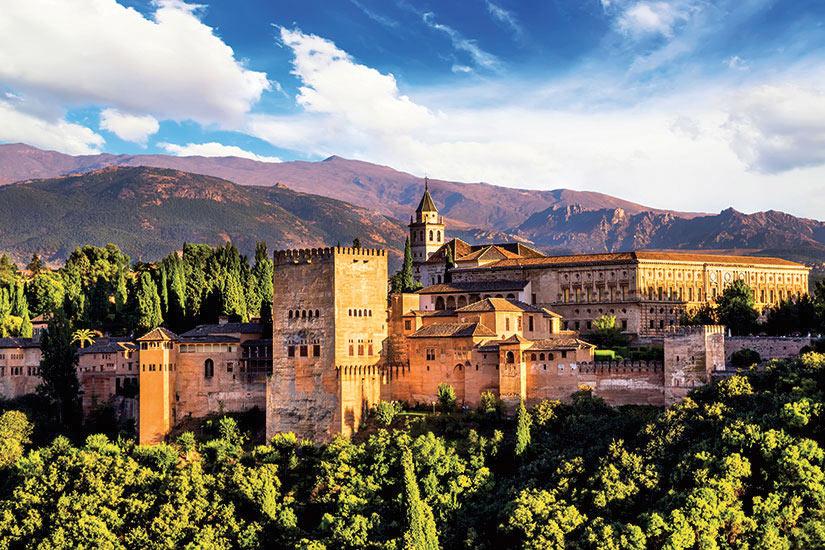 image Espagne Grenade Ancienne fortresse arabe de l Alhambra  it