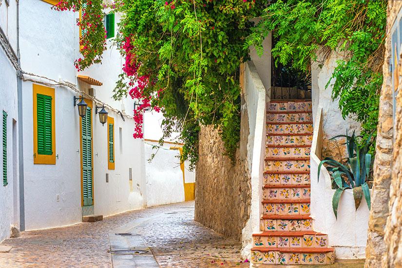 image Espagne Ibiza Paysage vieille  it
