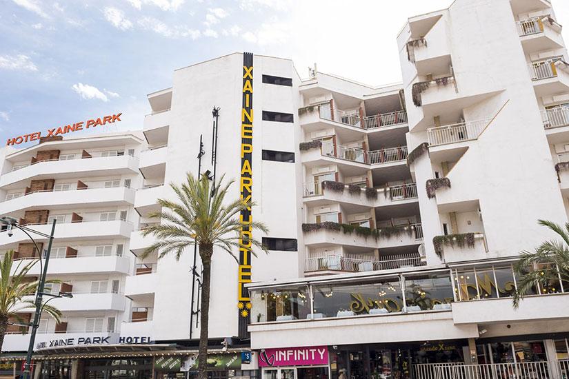 image Espagne Lloret de Mar Hotel Xaine Park facade
