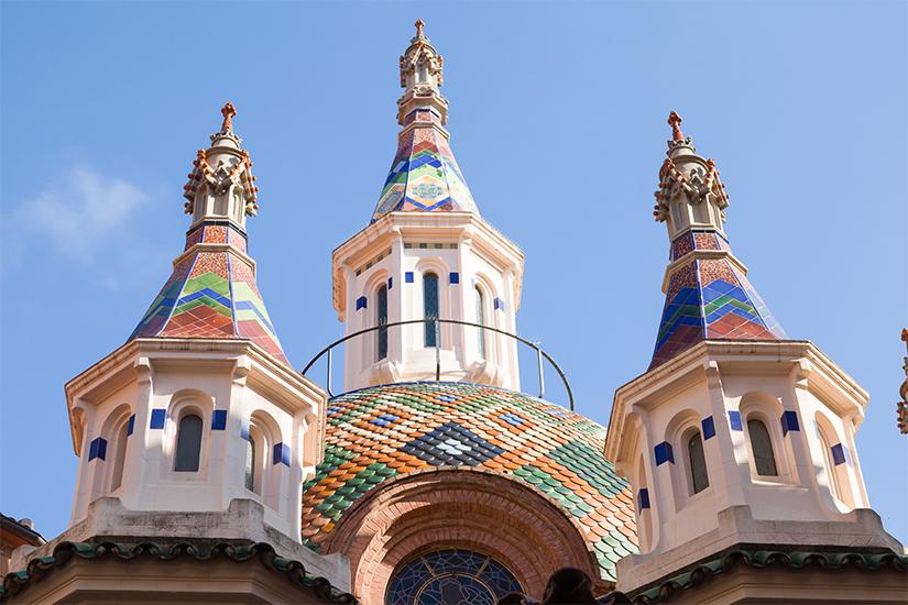 image Espagne Lloret de mar eglise de Saint Roma