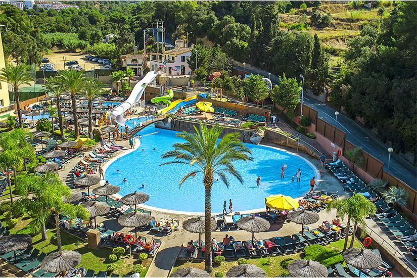image Espagne Lloret de mar hotel rosamar garden et spa