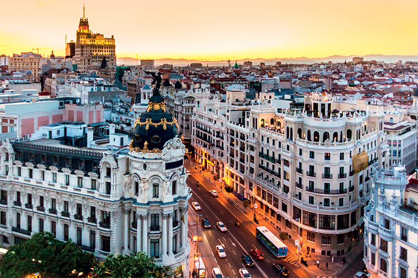 image Espagne Madrid Gran Via 09 as_43785171