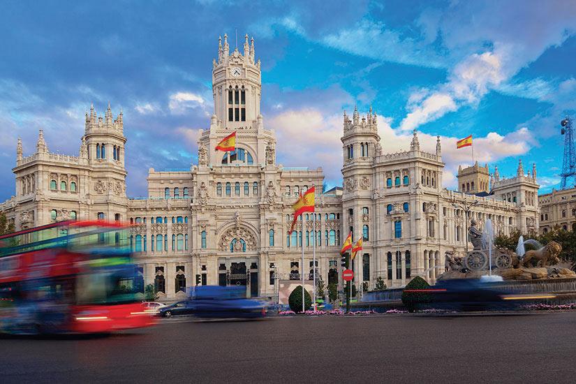 image Espagne Madrid Palais de comunications  fo