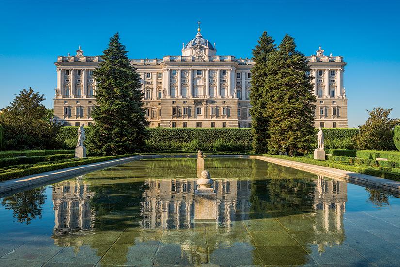 image Espagne Madrid Palais royal et jardins de Sabatini 32 it 481580072