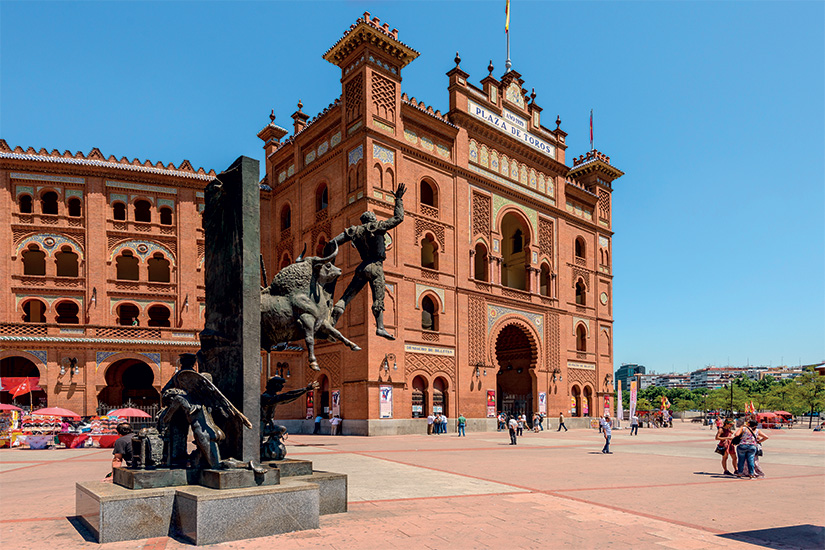 image Espagne Madrid Plaza de Toros 03 as_85779922