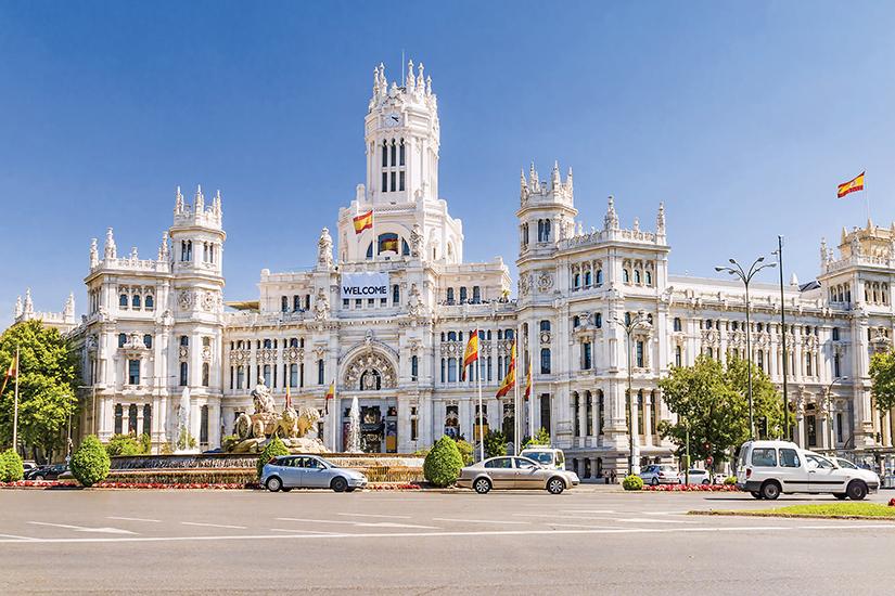 image Espagne Madrid place de Cibeles as_171083084