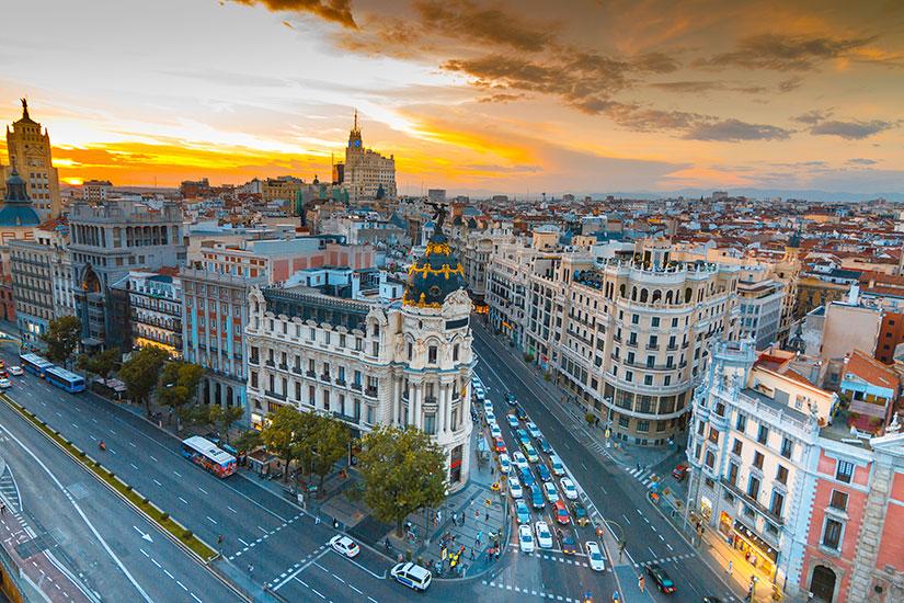 image Espagne Madrid rue  it