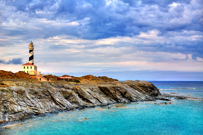 image Espagne Minorque Cap Favaritx phare  it