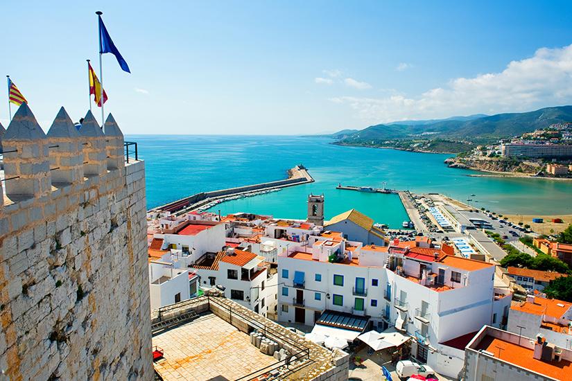 image Espagne Peniscola chateau