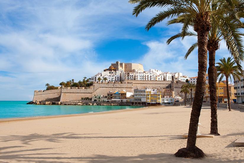 image Espagne Peniscola plage