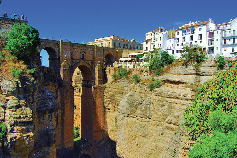 image Espagne Pont Ronda Gorge  fo
